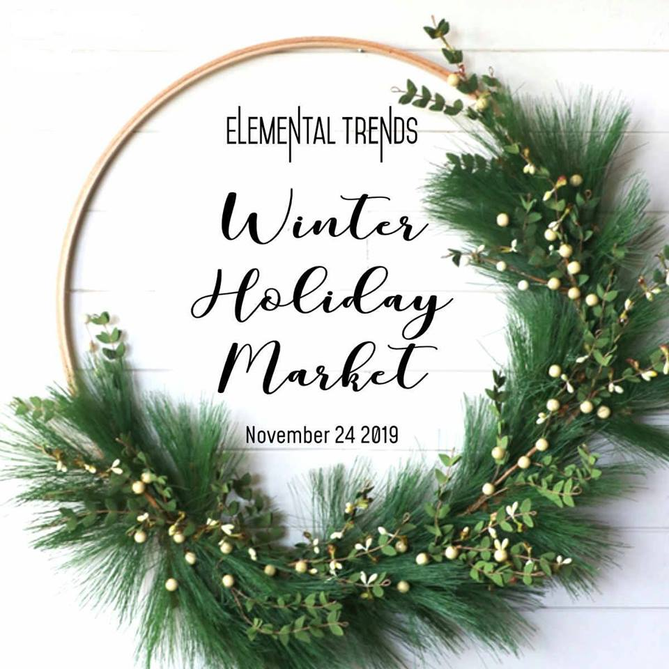 Holiday Christmas Trends 2019.Elemental Trends Winter Holiday Market 2019 The 6th Scent Candle